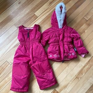 Other - Girls 12 months snowsuit like new